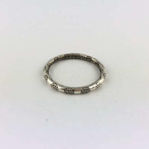 anello-uomo-donna-argento-925-fede-fiore-tribale-online