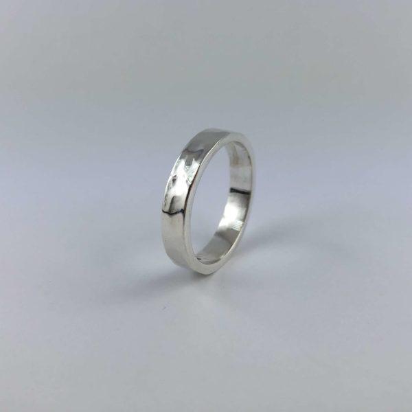 anello-uomo-donna-argento-925-fede-martellata-online