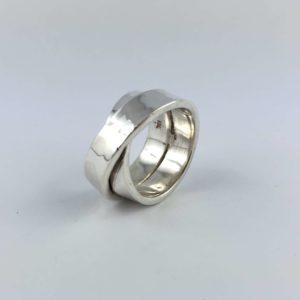 anello-uomo-donna-fascione-argento-925-abbracciato-intrecciati-online