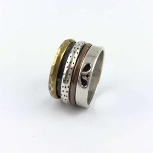 anello-uomo-donna-fascione-argento-925-ottone-rame-online