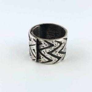 anello-uomo-donna-fascione-argento-925-tribale-online