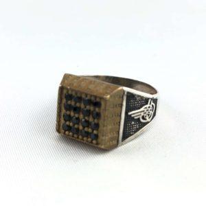 anello-uomo-turcomanno-cristalli-argento-925-nero-online