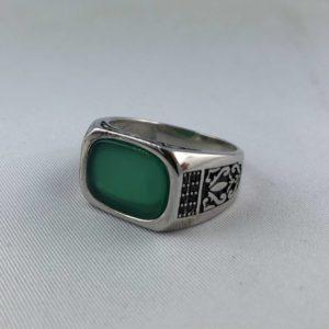 anello-uomo-turcomanno-onice-verde-argento-925-online