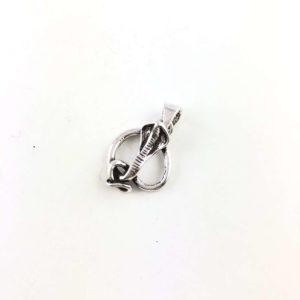ciondolo-argento-925-cobra