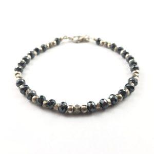 bracciale-uomo-argento-925-ematite-sfaccettata-pepite-medie-online
