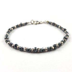 bracciale-uomo-argento-925-ematite-sfaccettata-pepite-piccole-online