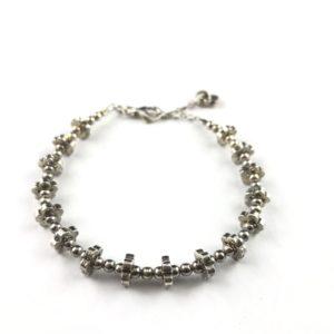 bracciale-uomo-argento-925-fiori-massicci-online