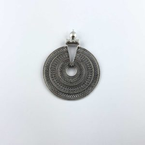 ciondolo-artigianale-india-argento-925-cerchi-concentrici-online