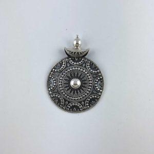 ciondolo-artigianale-india-argento-925-disegno-tradizionale-scudo-online