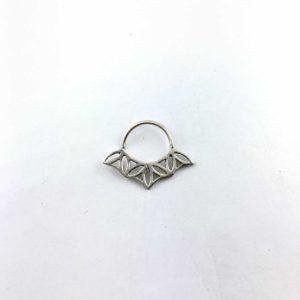 septum-argento-925-foglie-online