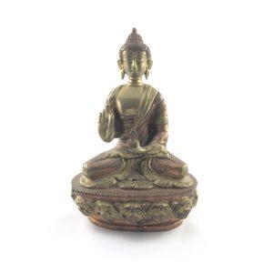 statua-buddha-siddharta-fusione-ottone-ossidazione-ramata-online