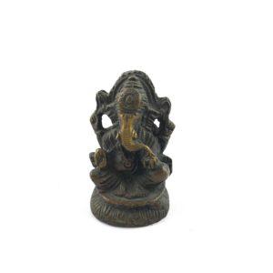 statua-ganesh-seduto-trono-fusione-ottone-online