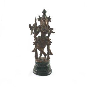 statua-krishna-flauto-fusione-ottone-online