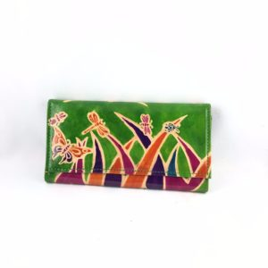 Portafoglio-cuoio-porta-carte-credito-porta-monete-disegno-fili-erba-animali