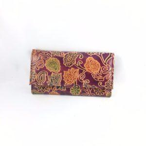 Portafoglio-cuoio-porta-carte-credito-porta-monete-disegno-floreale