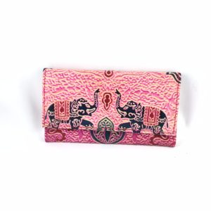 Portafoglio-cuoio-porta-carte-credito-porta-monete-etnico-elefanti
