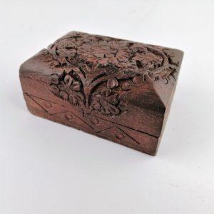 Scatola-legno-Sheesham-intagliato-disegno-floreale