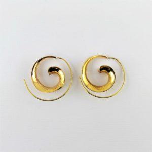 orecchini-ottone-spirale-disegno-conchiglia