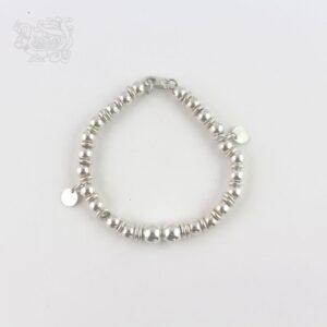 Bracciale-donna-argento-925-palline-ciondoli-anelli