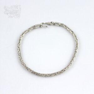 Bracciale-unisex-argento-925-maglia-bizzantina