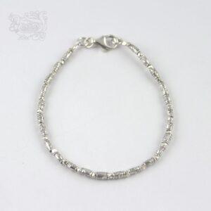 Bracciale-unisex-pepite-argento-999-chiusura-moschettone
