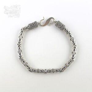 Bracciale-uomo-argento-925-maglia-bizzantina