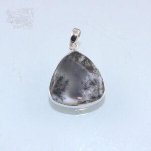 Ciondolo-pietra-agata-dendritica-montata-argento-925-forma-goccia