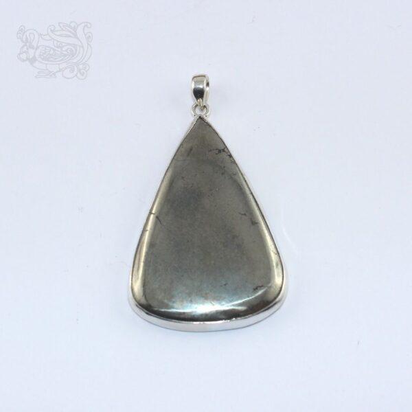 Ciondolo-pietra-ematite-montata-argento-925-forma-goccia