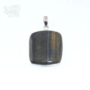 Ciondolo-pietra-occhio-falco-montata-argento-925-forma-rettangolare