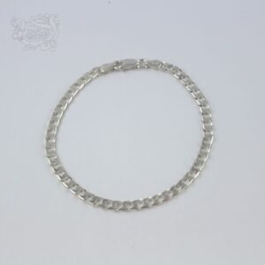 bracciale-argento-925-maglia-italiana-piccola-chiusura-moschettone